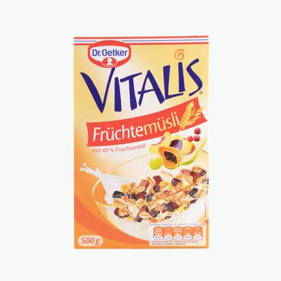Dr. Oetker Vitalis Fruit Muesli 500g