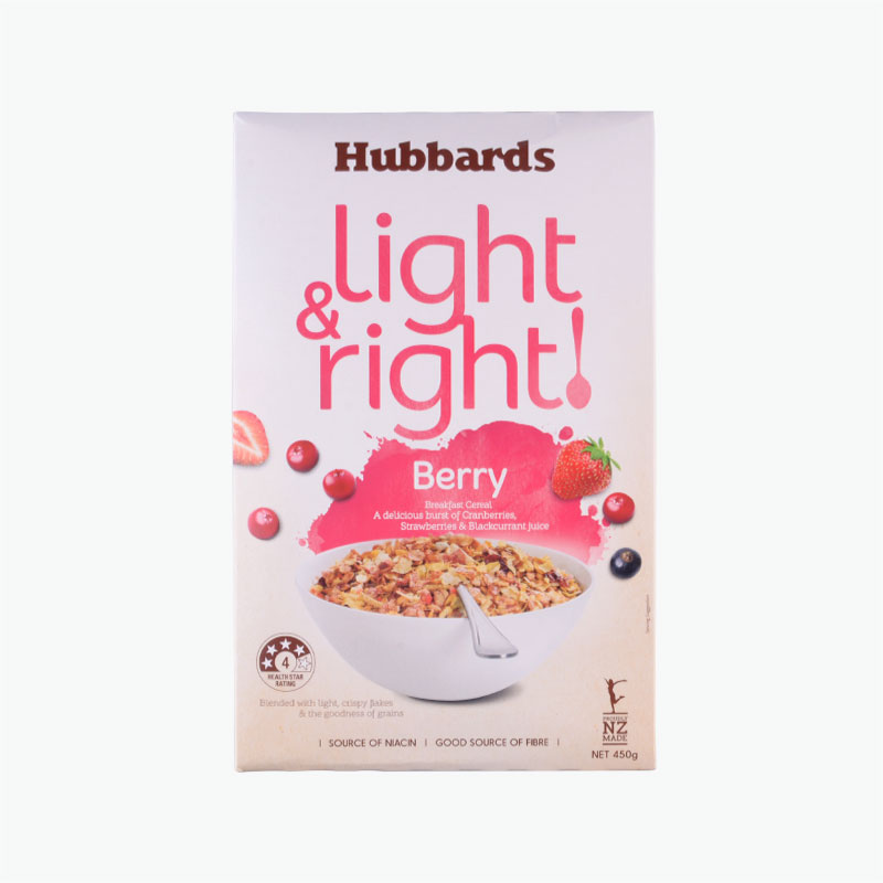 Hubbards Light&Right Berry Muesli 450g