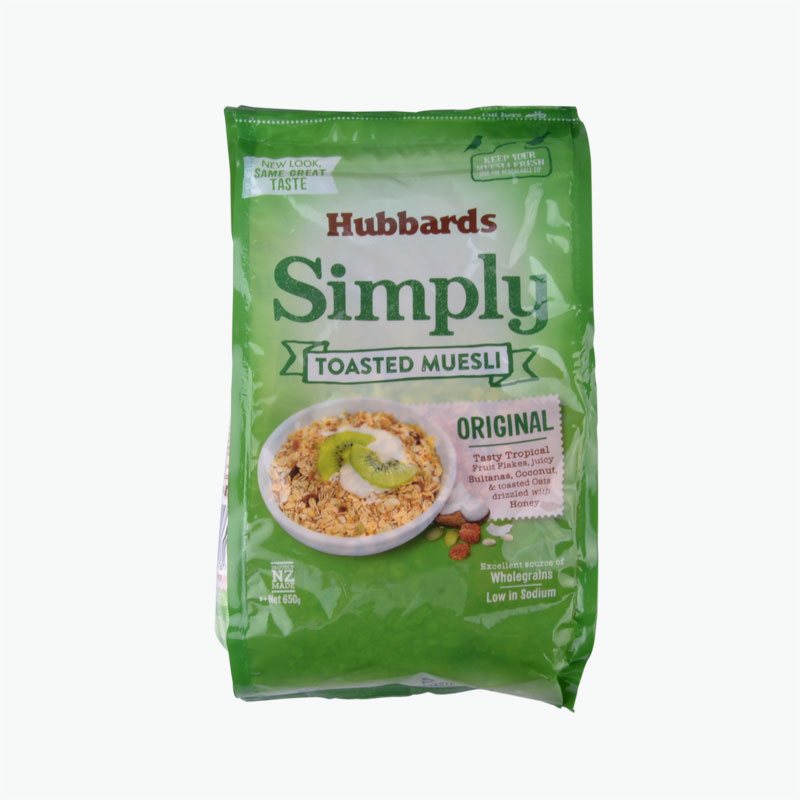 Hubbards Simply Toasted Original Muesli 650g