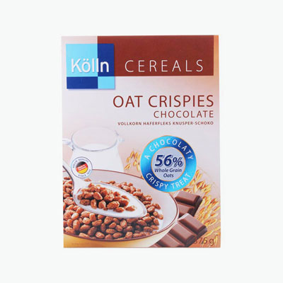 Kolln, Oat Crispies (Chocolate) 375g