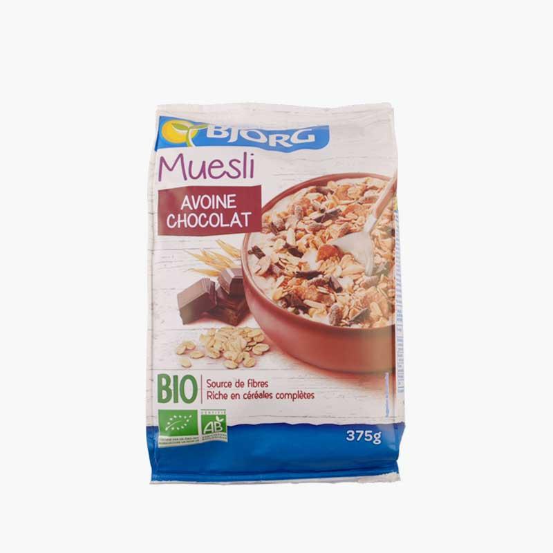 Bjorg Organic Chocolate Muesli 375g