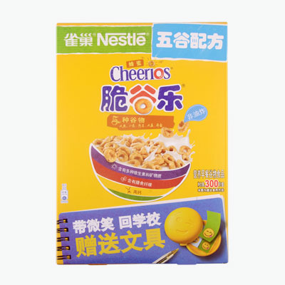 Nestle, Oats & Honey Cheerios 300g