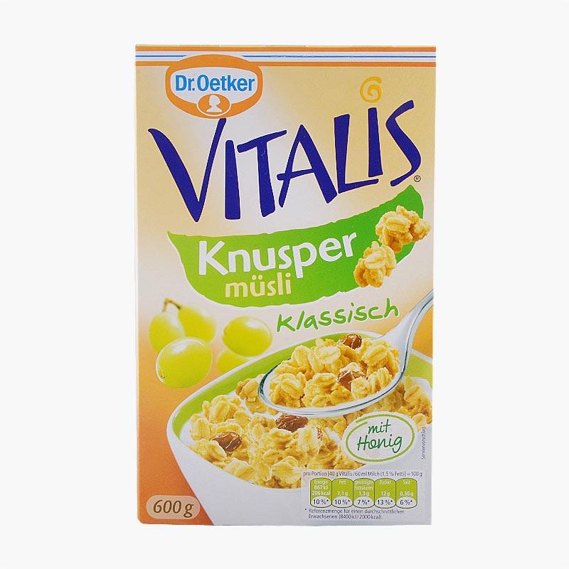 Dr. Oetker Vitalis Classic Crunchy Muesli 600g