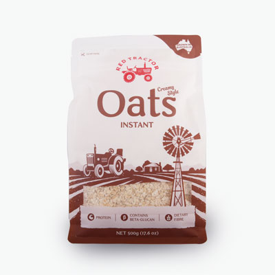 Red Tractor Foods, Instant Oats 500g