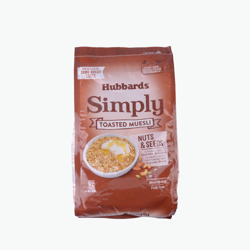 Hubbards Simply Toasted Nuts and Seeds Muesli 600g