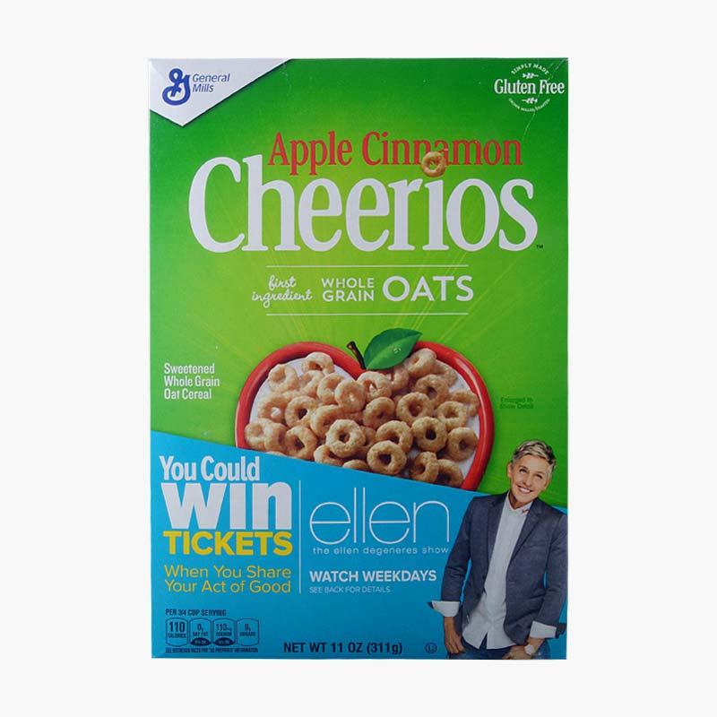 General Mills Apple Cinnamon Cheerios Cereal 311g