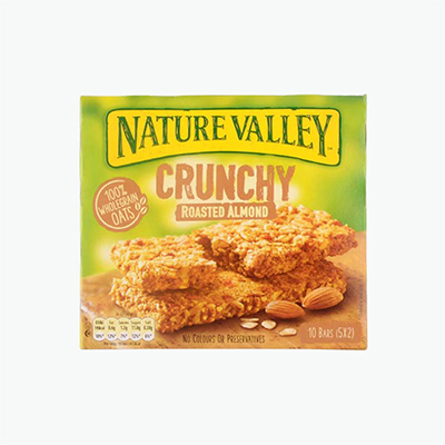 Nature Valley, Granola Bars (Roasted Almond) x5 210g