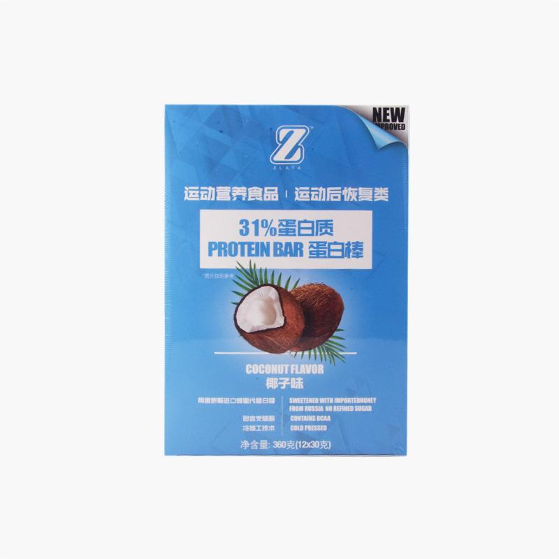 Zlata Coconut Protein Bars x12 30g