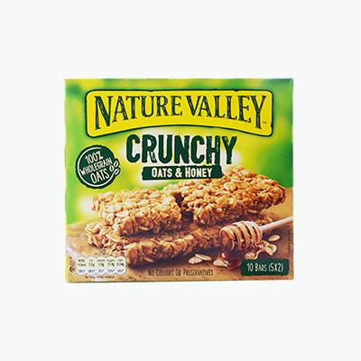 Nature Valley, Granola Bar (Oats & Honey) x5 210g