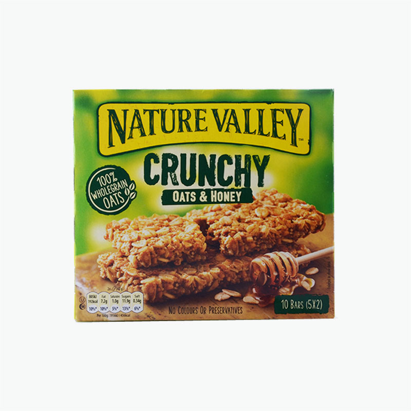 Nature Valley, Granola Bar (Oats & Honey) x5 210g