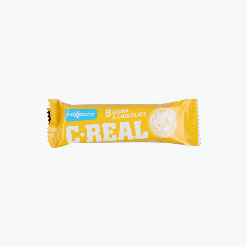 Maxsport C-Real Banana Chocolate Bar 40g