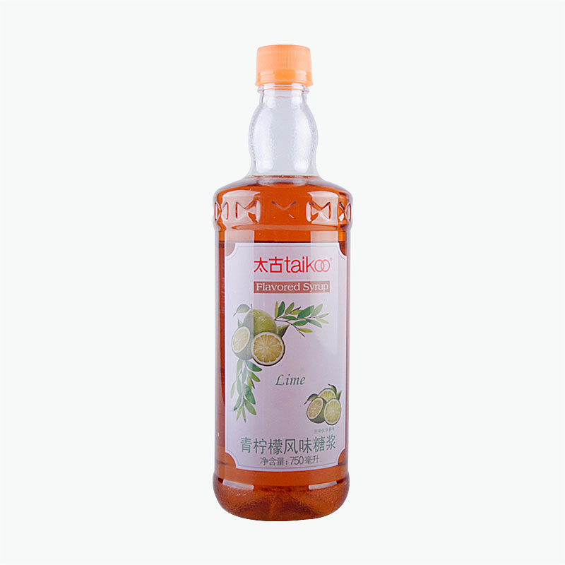 Taikoo Lime Flavored Syrup 750ml