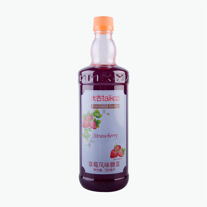 Taikoo Strawberry Flavored Syrup 750ml
