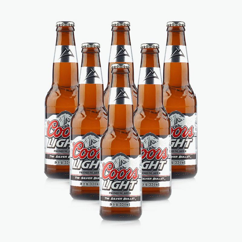 Coors Light, Beer 330ml X6