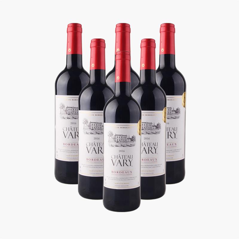 Chateau Vary Bordeaux x6 750ml