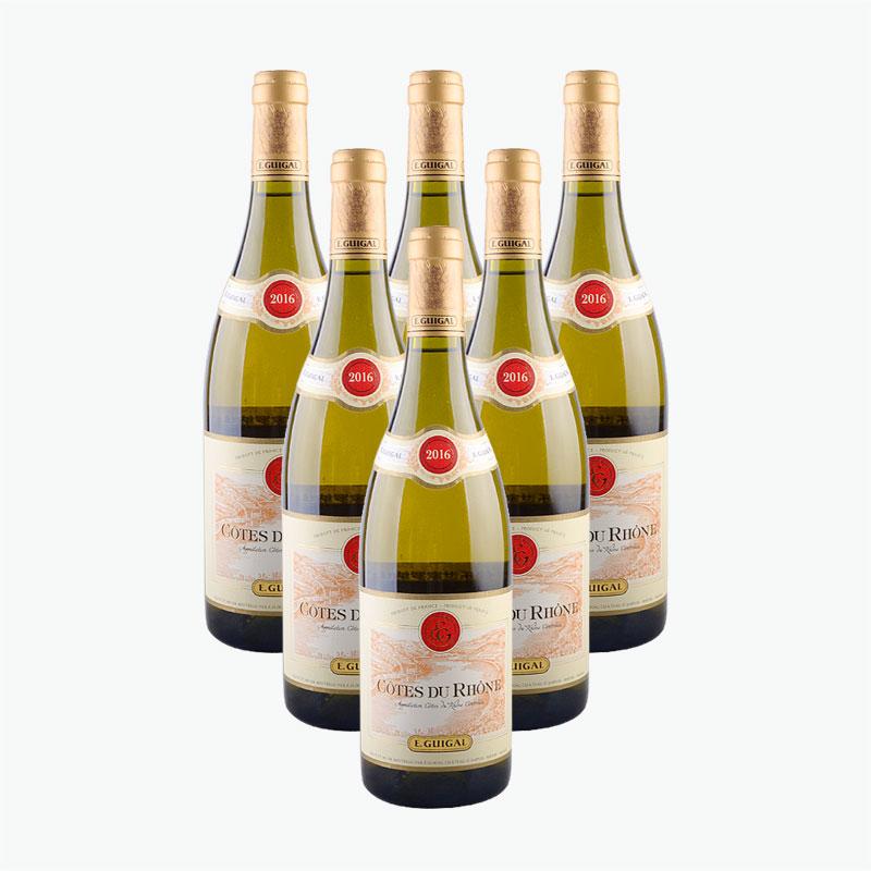 E. Guigal Côtes Du Rhône Blanc x6