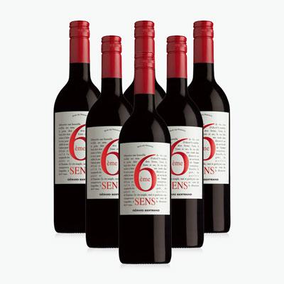 Gérard Bertrand 6ème Sens Rouge x6