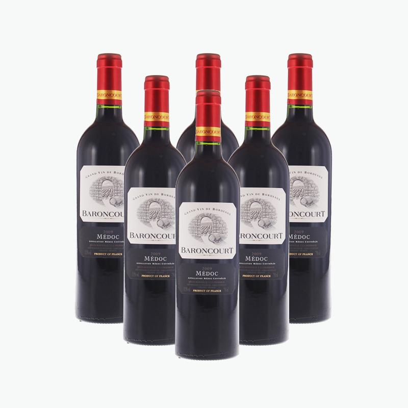 Baroncourt Bordeaux Medoc x6