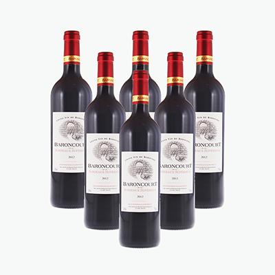 Baroncourt Bordeaux Superieur AOC 750ml x6