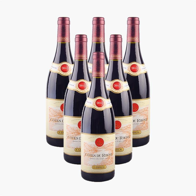 E.Guigal Cotes du Rhone Rouge x6