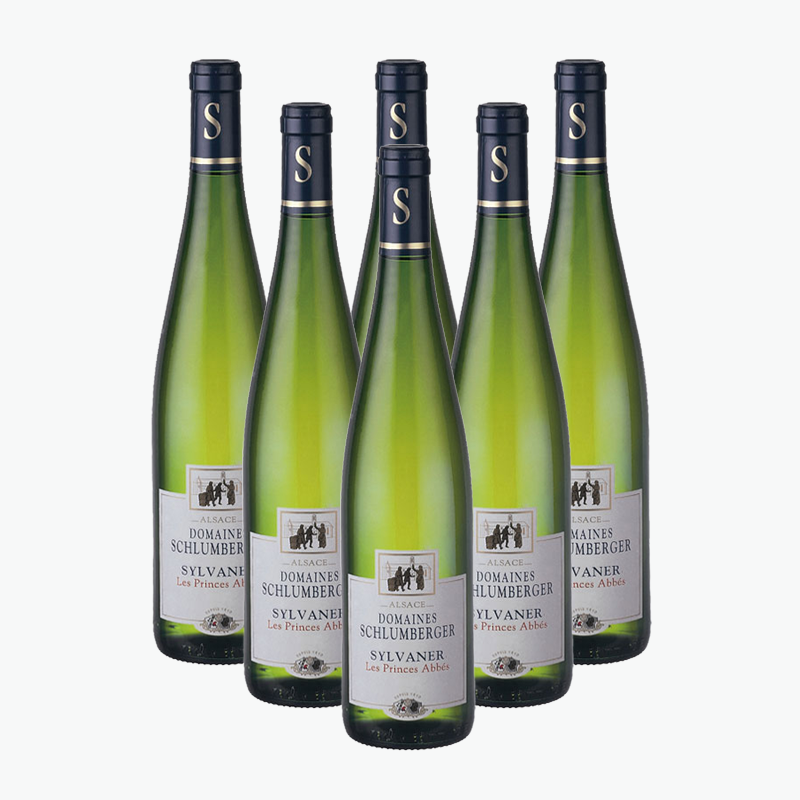 Domaines Schlumberger Sylvaner Les Princes Abbes 750ml x6