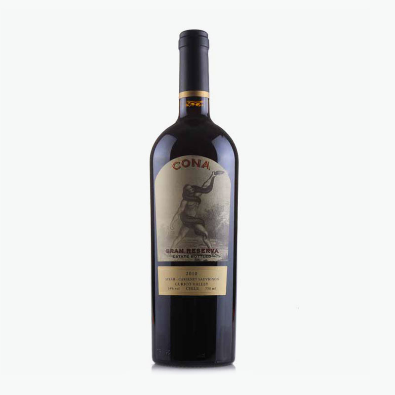 Cona Gran, Reserva Estate Bottled Curico Valley 2010 750ml