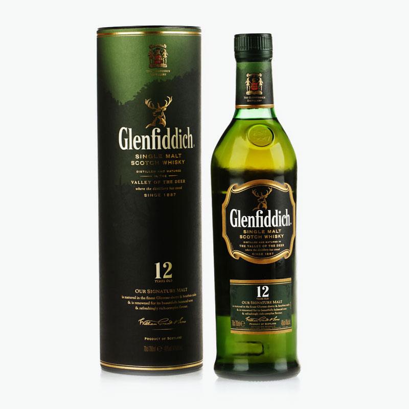 Glenfiddich, Single Malt Scotch Whisky (12 Yrs Old) 700ml
