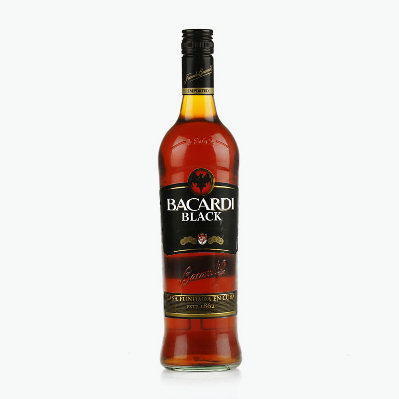 Bacardi, Black Rum 750ml