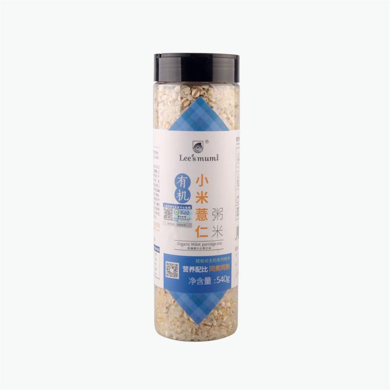 Lee's Mum Organic Coix Seed Rice for Porridge 540g