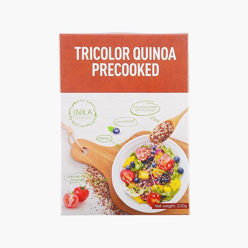 Inka Nutrition Tricolor Precooked Quinoa 200g