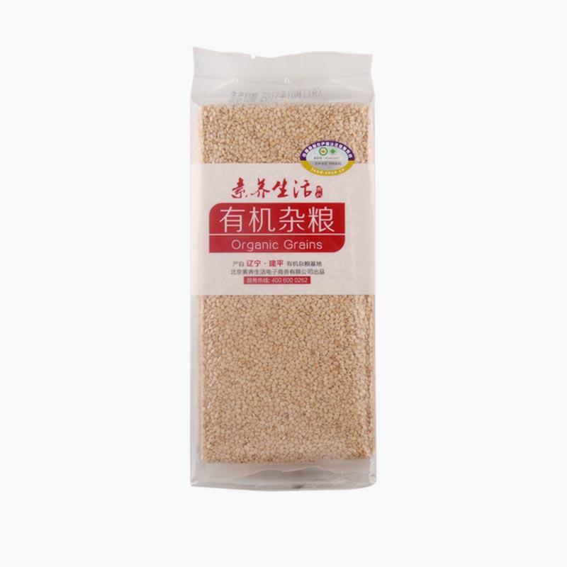 Su Yang Sheng Huo Organic White Sesame 400g