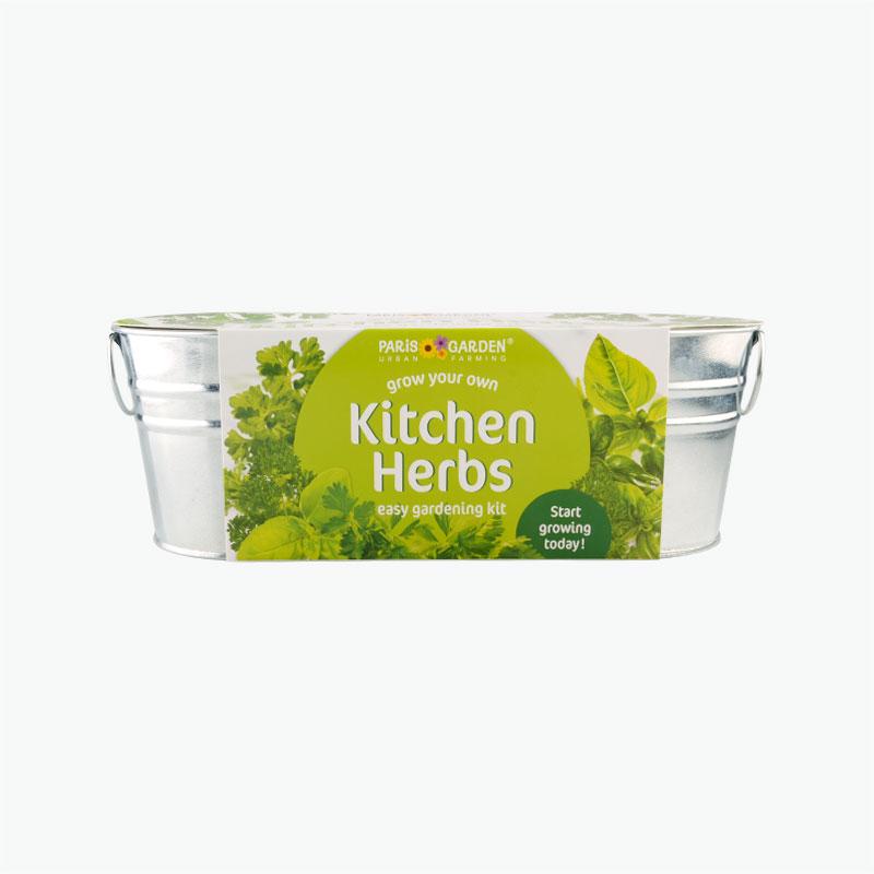 Paris Garden Zinc Collection Kitchen Herbs Windowsill Potts