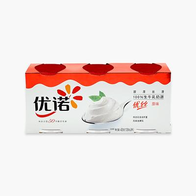 Yoplait Perle de Lait Plain Yogurt 135g x3