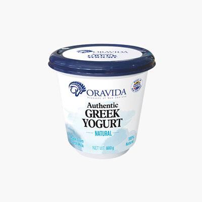 Oravida Natural Greek Yogurt 800g