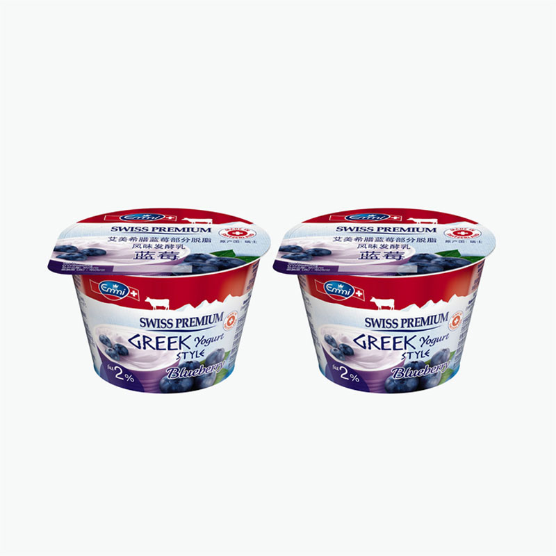 Emmi Swiss Premium Greek Style Blueberry Yogurt 150g x2