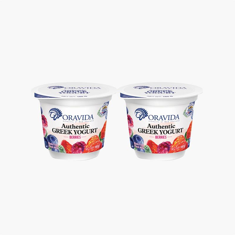 Oravida Berry Yogurt 160g x2