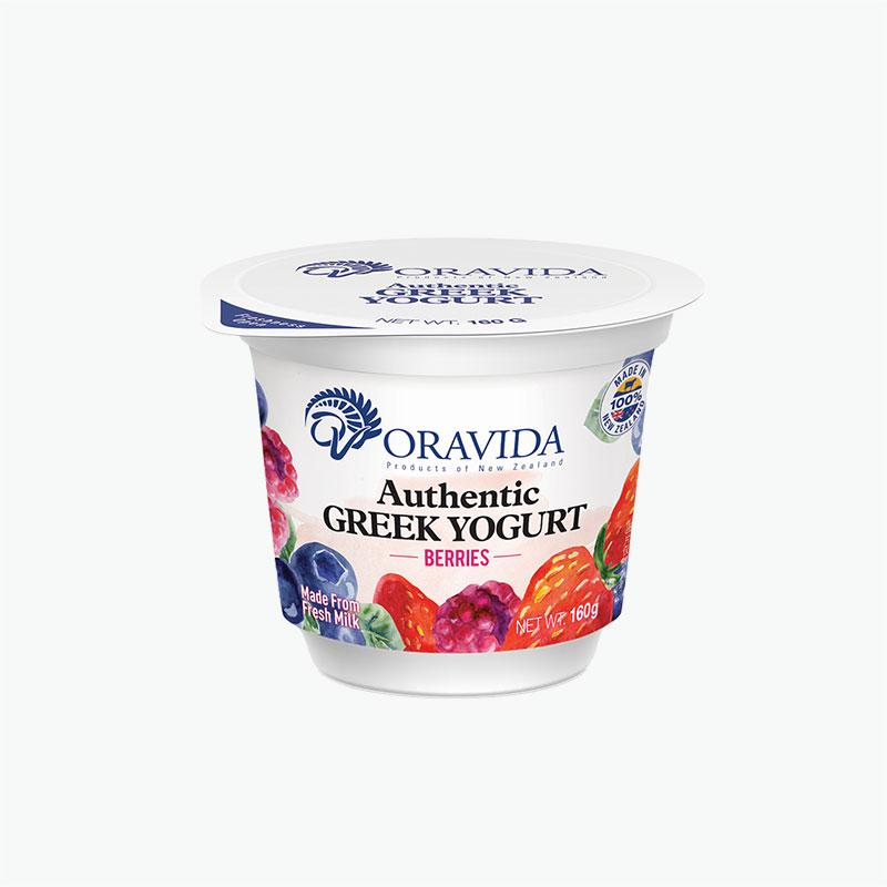 Oravida Berry Greek Yogurt 160g