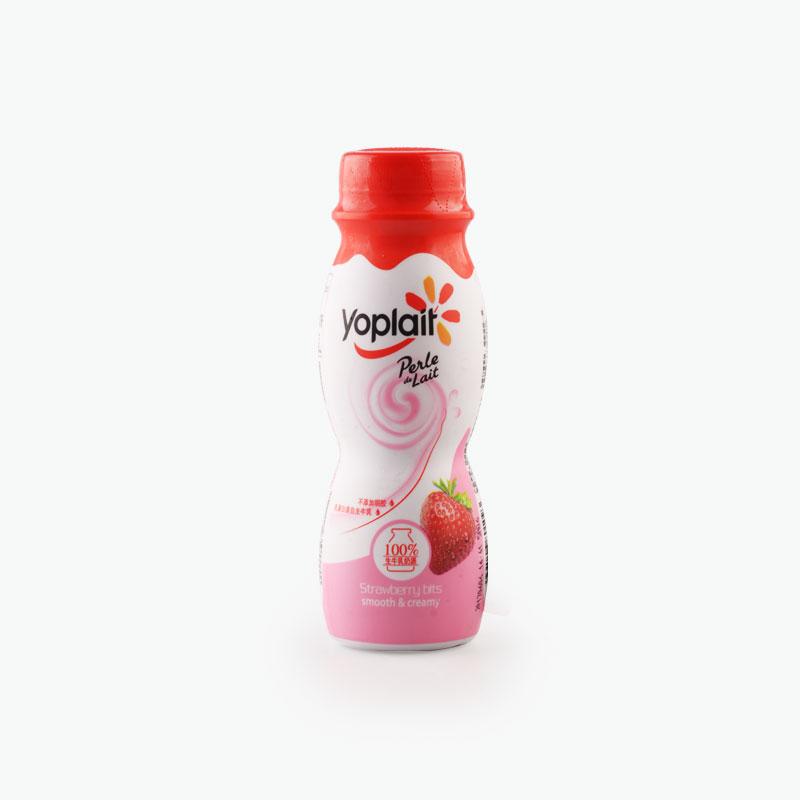 Yoplait Perle de Lait Strawberry Yogurt Drink 210g