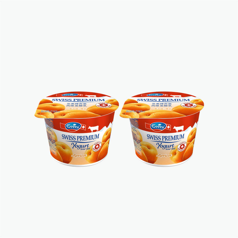 Emmi Swiss Premium Apricot Yogurt 100g x2