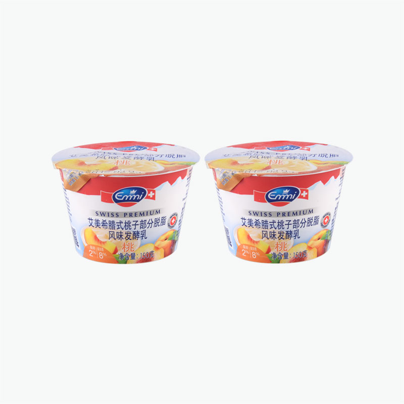 Emmi Swiss Premium Greek Style Peach Yogurt 150g x2