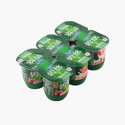 Danone Strawberry Yogurt 115g × 6