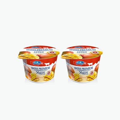 Emmi Swiss Premium Mango Yogurt 100g x2