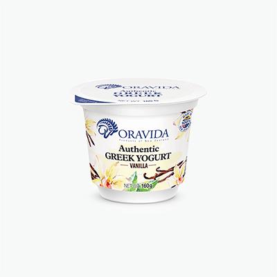 Oravida Authentic Vanilla Greek Yogurt 160g