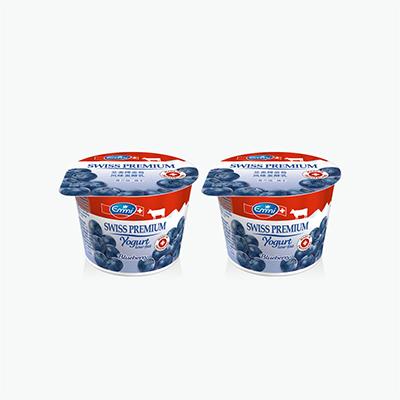 Emmi Swiss Premium Blueberry Yogurt 100g x2