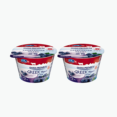 Emmi Swiss Premium Greek Style Blueberry Yogurt 150g x2