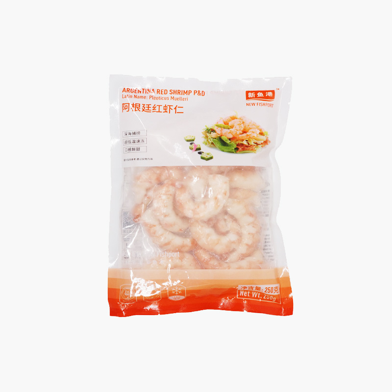 New Fishport Argentina Red Shrimp 250g
