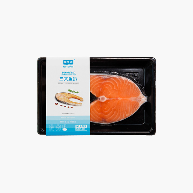 New Fishport Salmon Steak 200g