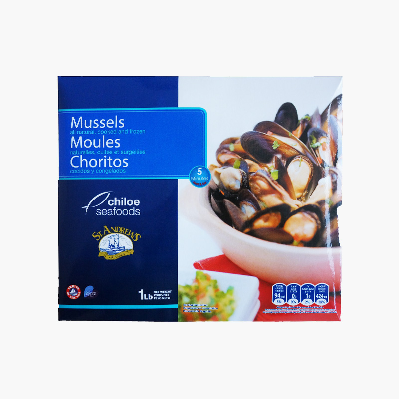 St.Andrews Mussels 454g