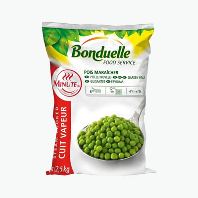 Bonduelle, Garden Peas 2.5kg (Minute)