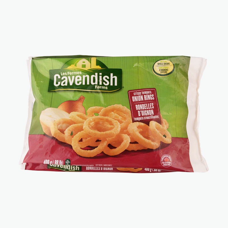 Cavendish Farms, Crispy Tempura Onion Rings 400g